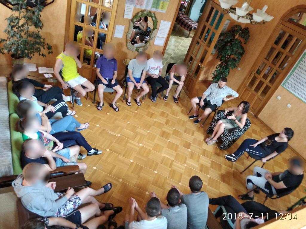 Гости реабилитационного центра «Вертикаль»