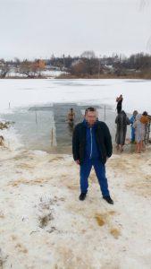 Купание в проруби Харьков Крещение