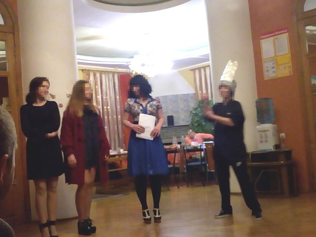 Новый год в реабилитационном центре в Харькове